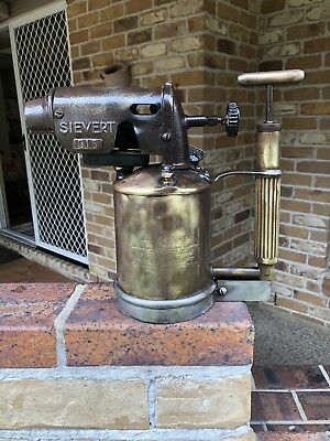 Antique Very Rare Max Sievert Number 315 Blow Torch Large Rare!