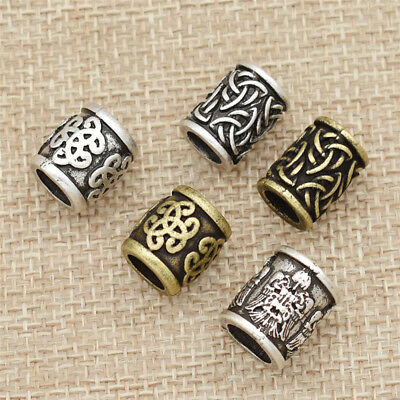 1 Pc Celtic Knot Viking Bead Jewellery Beard Hair Beads For Jewelry Making DIY