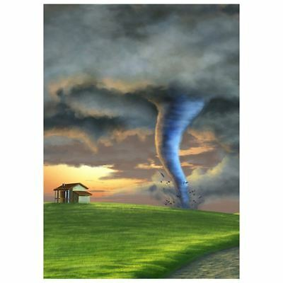 2X(Photo Background 5X7ft Fairy Tale Tornado Photography Backdrop Studio Pro S2)