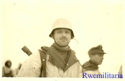 **BEST! Luftwaffe Field Division Unit in Russian Winter in Full Snow Camo (#1)**