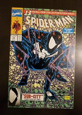 Spider-Man #13 (1991) VF TODD MCFARLANE ART SEE MY OTHER HIGH GRADE AUCTIONS APP
