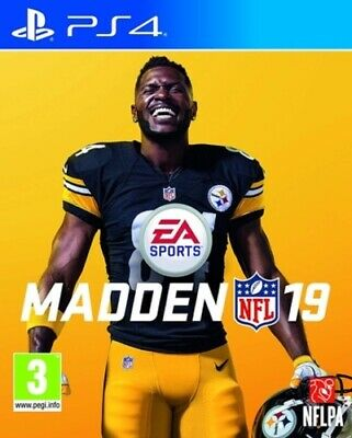 Madden NFL 19 (PS4) PEGI 3+ Sport: Football   American FREE Shipping, Save £s