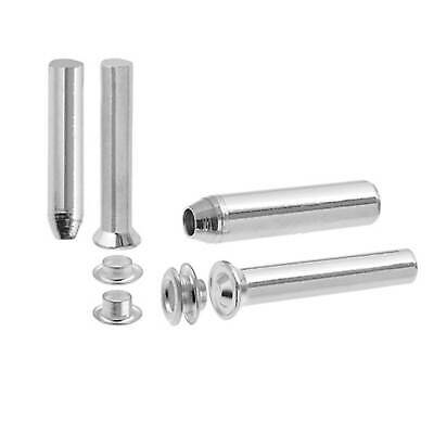 Ojales con Setter y Punch 3.5mm Agujero Plata 36pcs