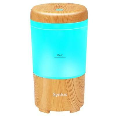 Syntus USB Car Essential Oil Diffuser Wood Grain Mini Portable Aromatherapy