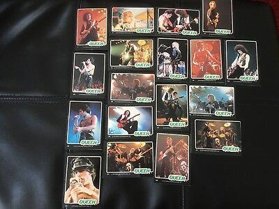 Queen 1979 Rockstars Trading Card Set