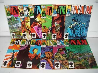The 'nam Set / Lot - #1 - 12 - Straight Run In Super High Grade Unread Nm/m