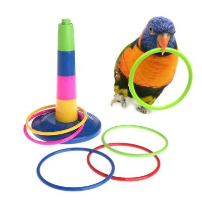 Parrot Intelligence Development Educational Interactive Training Bird Puzzle Toy