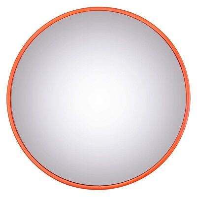 "18"" Wide Angle Convex PC Mirror Wall Mount Corner Blind Spot Security & Safety"
