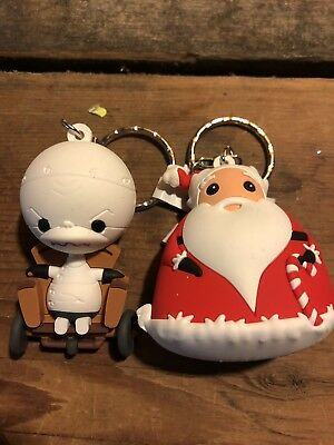 nightmare before christmas Figural Key Chain Two Key Chain Lot Series 2