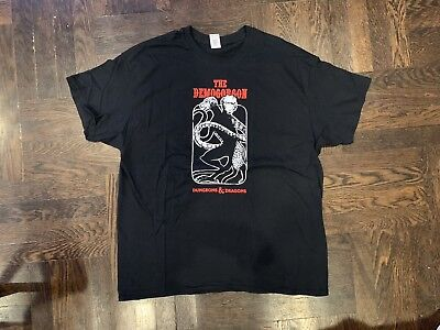 The Demogorgon T Shirt Mens Black Size XL Dungeons And Dragons