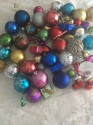 Vintage Christmas Decorations 60 Pieces In Total