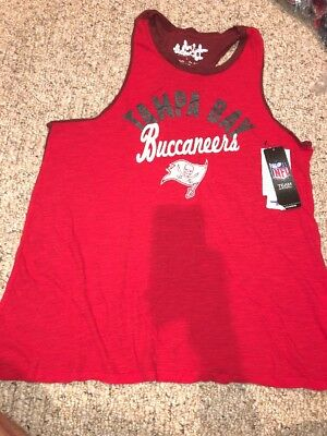 86fb7955 TAMPA BAY BUCCANEERS Football NFL Womens Large Tank Top T-Shirt ...