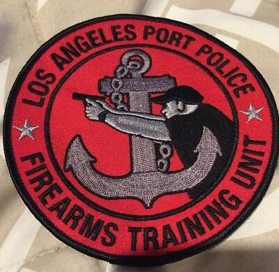 Los Angeles Port Police Patch POLICE PATCH Firearms Training Unit