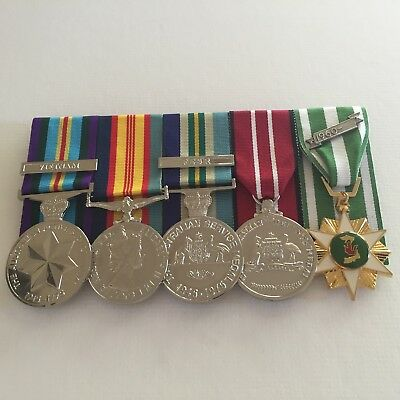 Vietnam Navy Set of Full Size Replica War Medals.