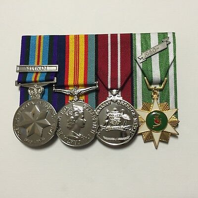 Vietnam Era, Set of Full Size Replica War Medals.