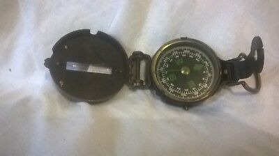 Brass Sighting Compass by Troughton & Simms, London, 1910