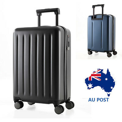 "20"" ABS Luggage Travel Suitcase Trolley TSA Lock Spinner Wheels Carry On Bag AU"