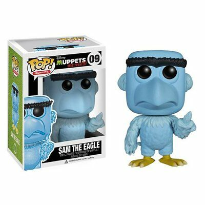 MUPPET SHOW (MUPPETS) Vinyl Figur SAM THE EAGLE - Most Wanted # 9
