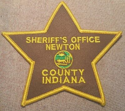 IN Newton County Indiana Sheriff Patch