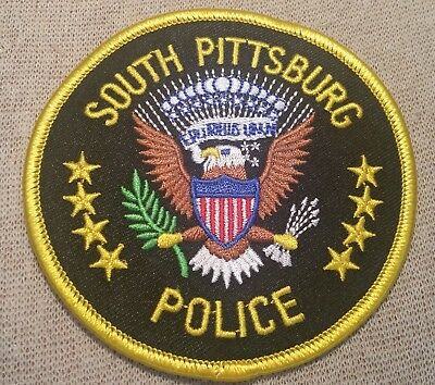 TN South Pittsburg Tennessee Police Patch