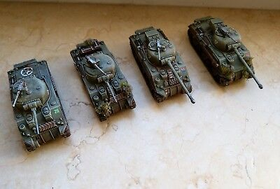 Flames of war British sherman Platoon super angemalt