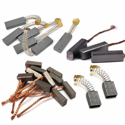 Various Style Replacement Carbon Brushes For Generic Electric Motor Drill Carbon