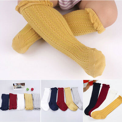 Baby Kids Toddlers Girls Knee High Socks Tights Leg Warmer Stockings For Age 0-3