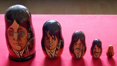 The Beatles - Rare Russian Dolls Set - Complete & In Excellent Condition!!!