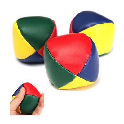 Juggling Balls Circus Clown Coloured Learn to Juggle Toy Game Soft 6A
