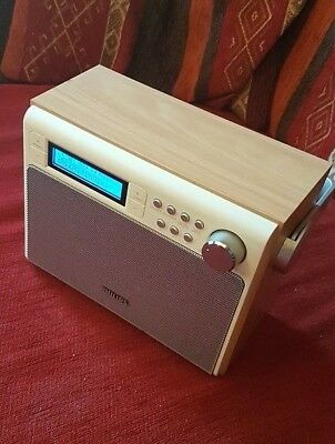 Philips AE5020 tragbares Radio Digitalradio Retro DAB+ UKW Batterie& Netzbetrieb