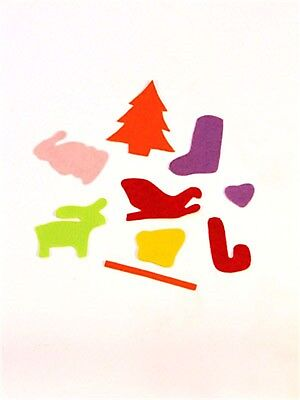 Christmas Felt Shapes - Pack of 189 Pieces