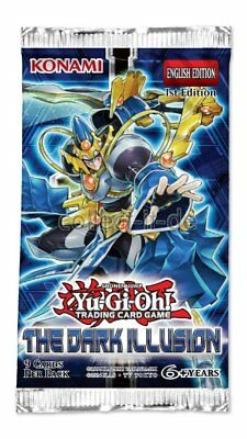 Yugioh The Dark Illusion - 1 Booster - Deutsch - 1. Auflage