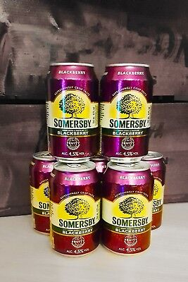 Somersby Blackberry Cider 48x0,330ml 4,5%Vol MHD 05/19
