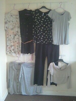 Huge Bundle Job Lot Ladies Clothes Size 14 New Look River Island Dorothy Perkins