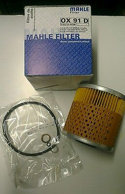 Mahle Original  Oil Filter OX91D BMW  Free oil sump washers