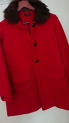 Girls traditional winter coat - Autograph by Marks and Spencer - 13-14 years