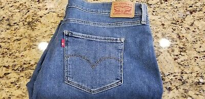 Women's Size 34 - Levi's 311 Shaping Skinny Mid Rise Stretch Jeans