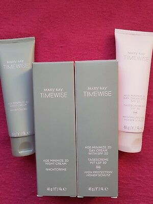 NEU ! Mary Kay TimeWise Age Minimize 3D Night Cream + Day Cream, Mischhaut