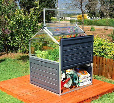 Palram Plant Inn 4 Ft. W x 4 Ft. D Mini Greenhouse