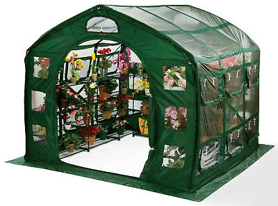 Flowerhouse Farm House 9 Ft. W x 9 Ft. D Greenhouse