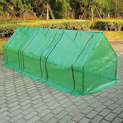 Outsunny 9 Ft. W x 3 Ft. D Mini Greenhouse