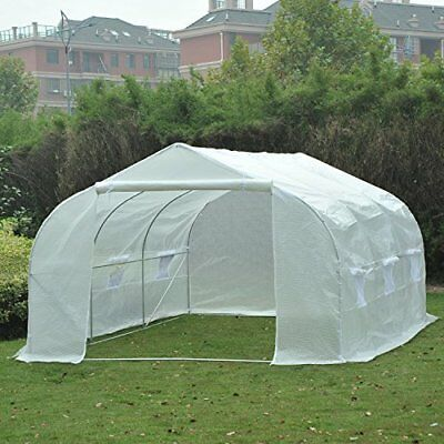 Outsunny 11' X 10' Portable Walk-In Garden Greenhouse