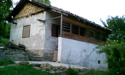 house in bulgaria with 2500m2 land small village water electricity internet