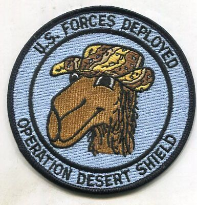 Us Forces Deployed Operation Desert Shield Patch