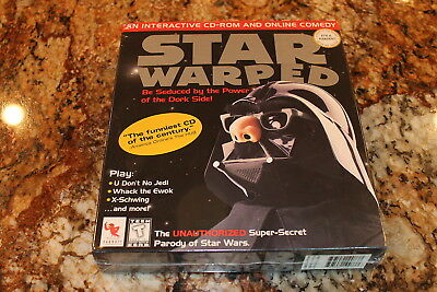 Star Warped PC game NEW in large retail box