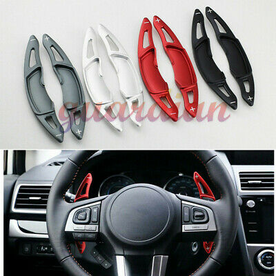 4 Color Steering steering wheel shift paddle Extension  shifter For Subaru