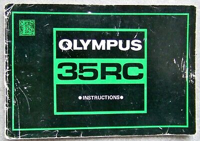 Olympus 35Rc Camera Instructions In English