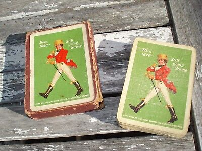 Ancien Jeu de Cartes Publicitaires Whisky Johnnie Walker A