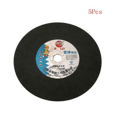 "5Pc 10"" Resin Cutting Disc Fiber Reinforced Grinding Wheel Blade 250x25.4x1.8mm"