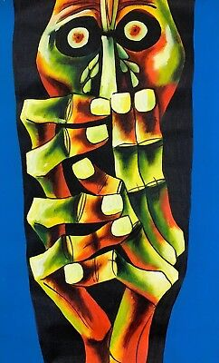 Oswaldo Guayasamin Handmade Painting Sculptures ''Tears of Blood'' ART CANVAS